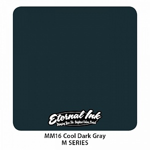 Cool dark gray - Eternal ink