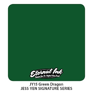 Green Dragon - eternal ink