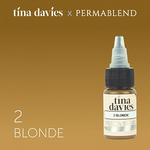 Пигмент Permablend Tina Davies 'I Love INK' 2 Blonde, 15 мл.