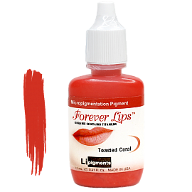 Пигмент Forever Lips Toasted Coral
