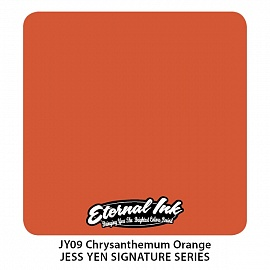 Chysanthemum Orange - eternal ink