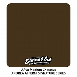 Medium chestnut - eternal ink