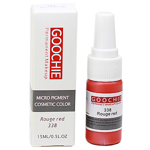 Пигмент Goochie 338 Rouge Red