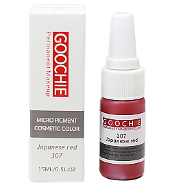 Пигмент Goochie 307 Japanese Red
